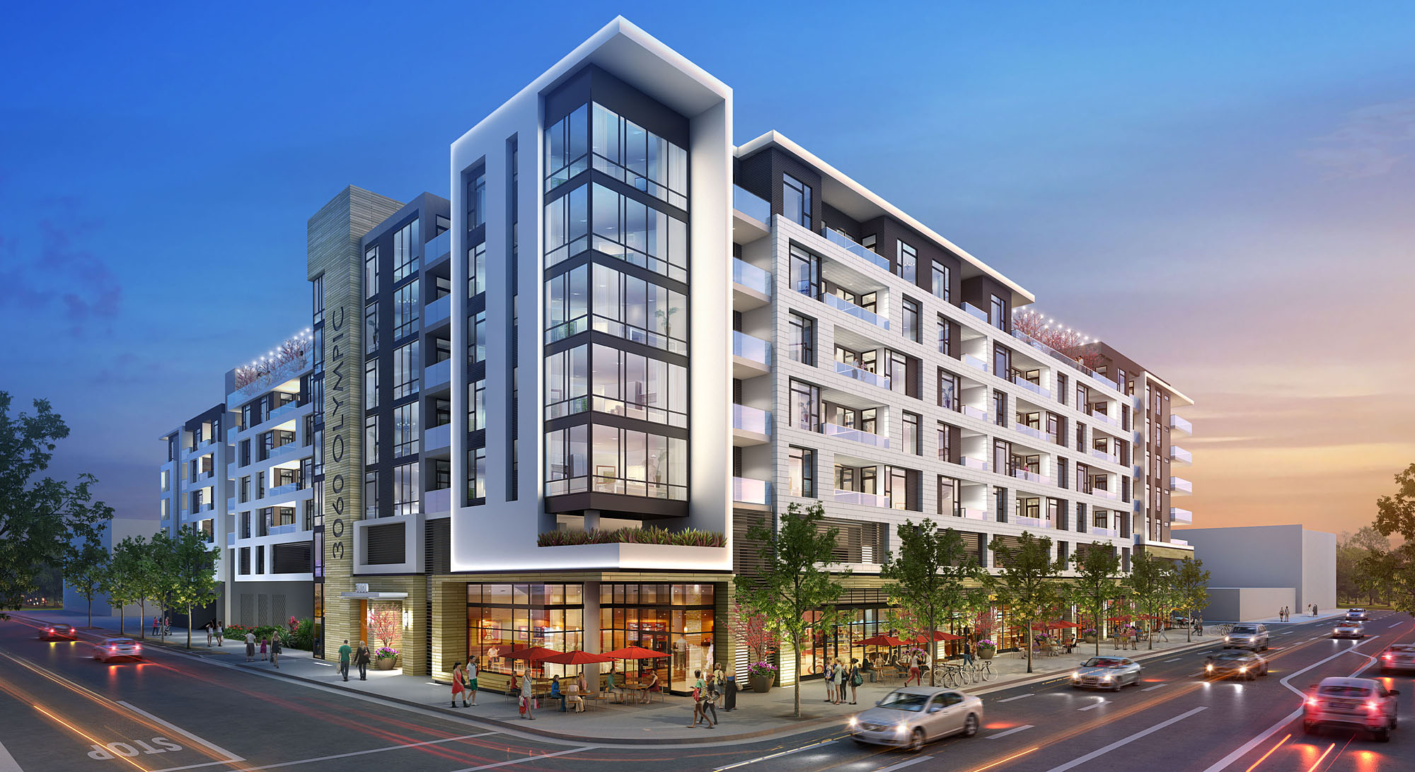 3060 Olympic Apartments And Retail To Rise On Olympic