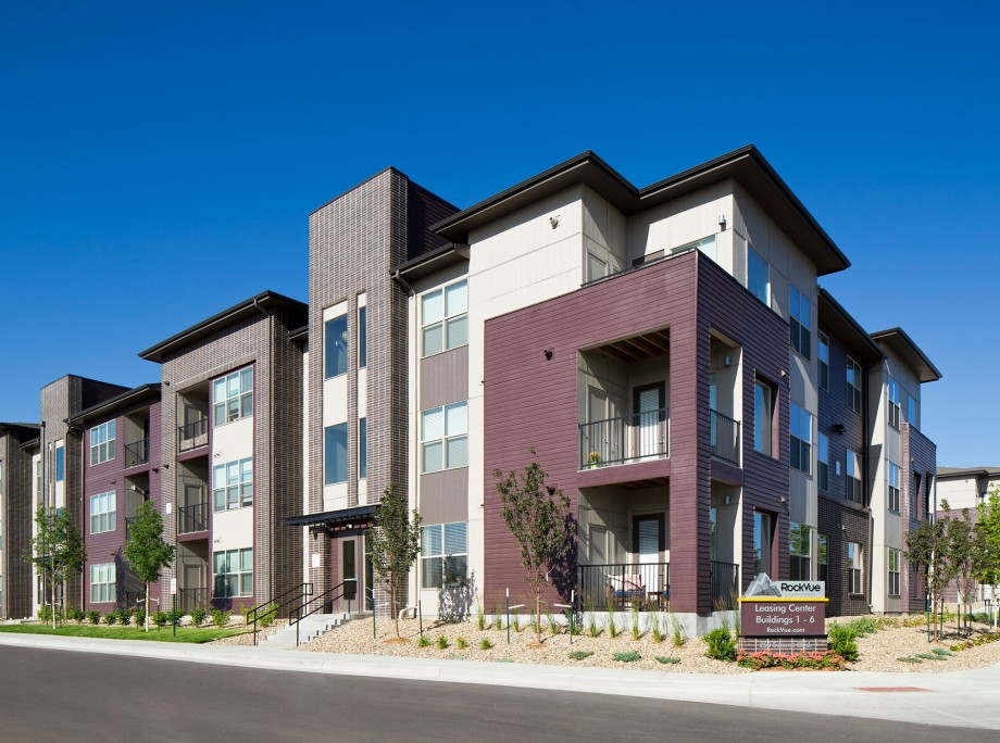 Walk Up Apartment Design Broomfield CO KTGY Architects