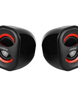 MINI 2.0 USB MULTIMEDIA SPEAKERS RED