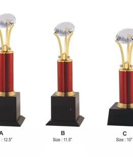 Metal Trophy 2502