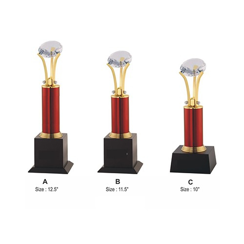 Wood Metal Trophy 2502
