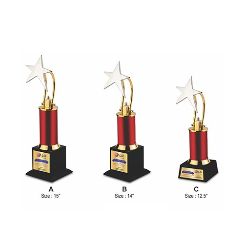 Wood Metal Trophy 2508