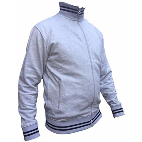 AWG High Neck Hoodie Sweatshirt Grey melange