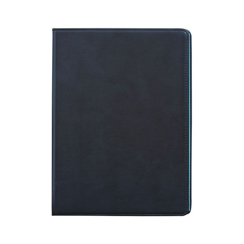 Faux Leather Black A4 Notebook