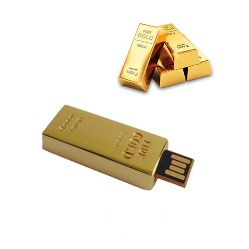 Gold Bar 2.0 USB Pen Drive