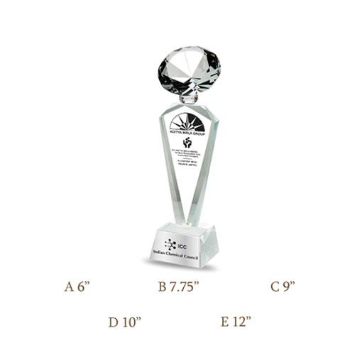 Crystal Trophy CG-113