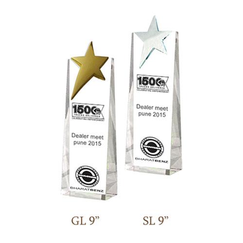 Crystal Trophy CG 223