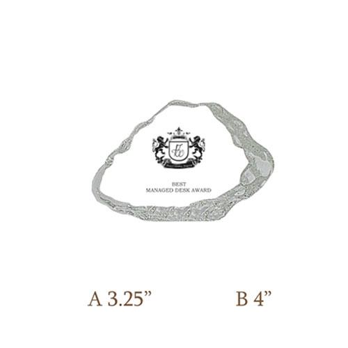 Crystal Slab Trophy CG 234