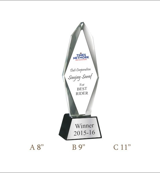 Crystal Trophy CG 340