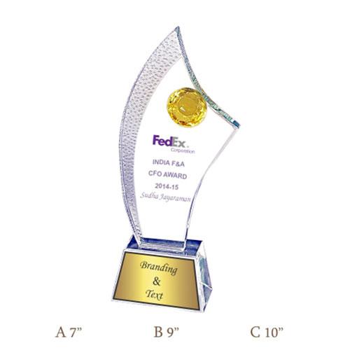 Crystal Trophy CG 453