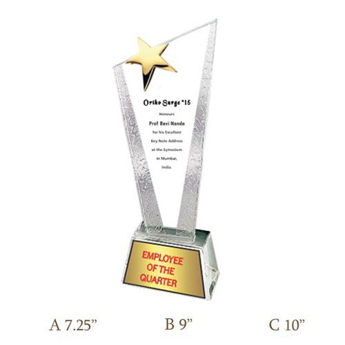 Crystal Trophy CG 455
