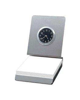 Memo-Pad-Holder-with-Clock