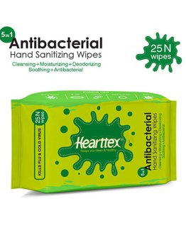 Heartex-Antibacterial-Wipes