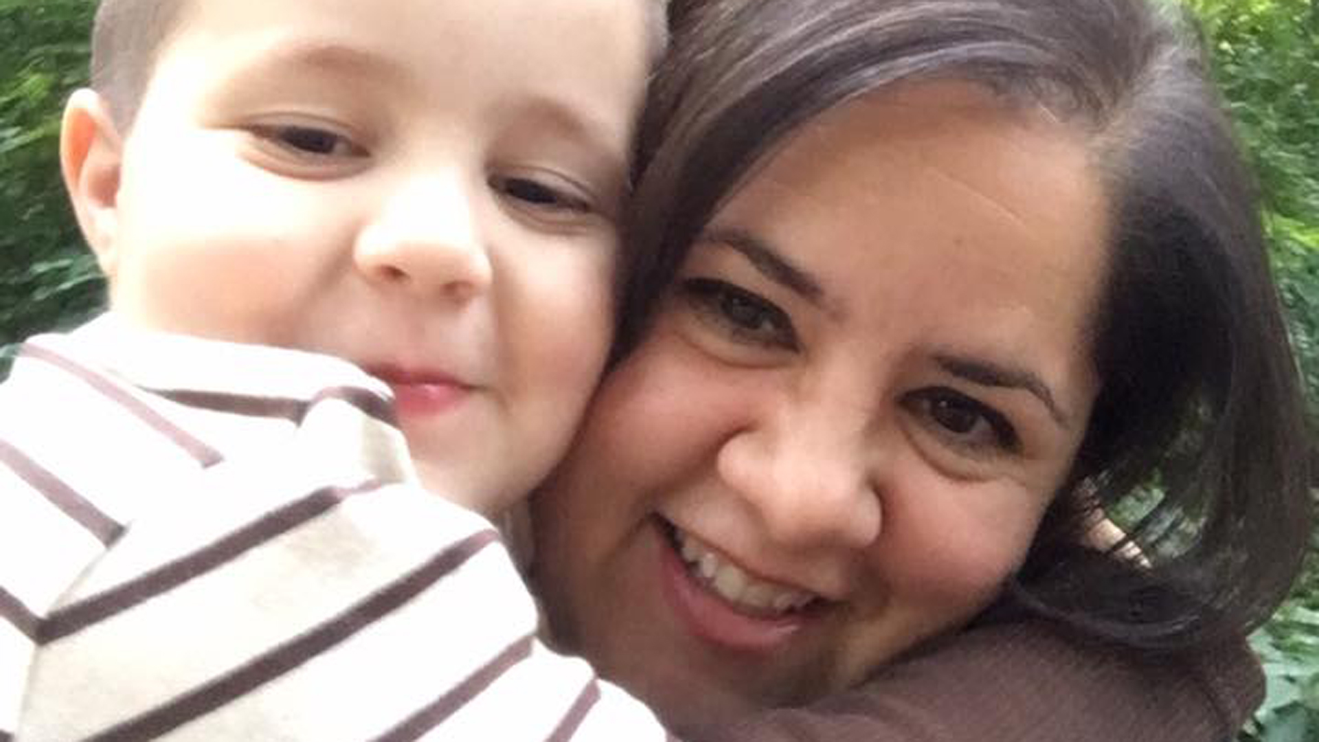"""Ana Estevez included this photo of herself and her son on a public Facebook post on May 17, 2017, when she first spoke out about the disappearance of Aramazd """"Piqui"""" Andressian Jr."""