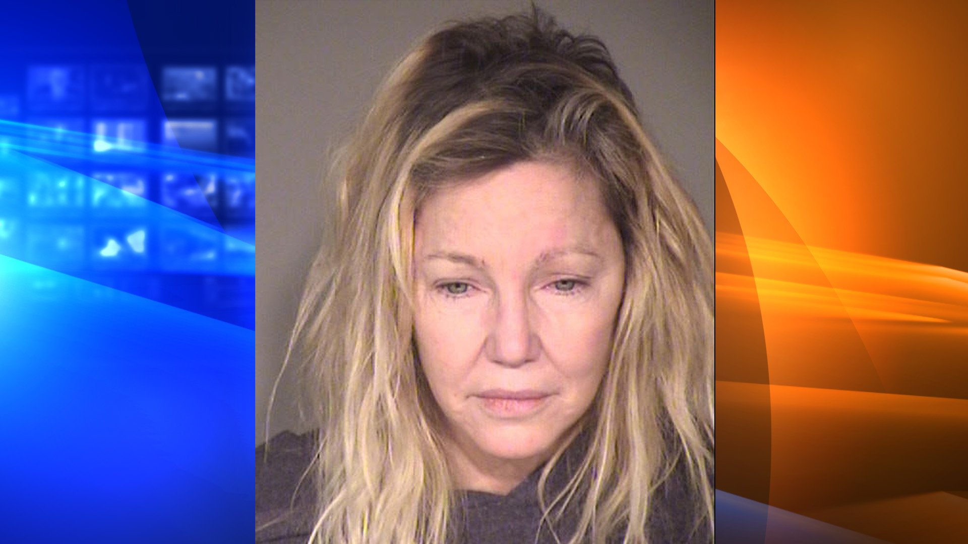 The Ventura County Sheriff's Office provided this booking photo of Heather Locklear on June 25, 2018.