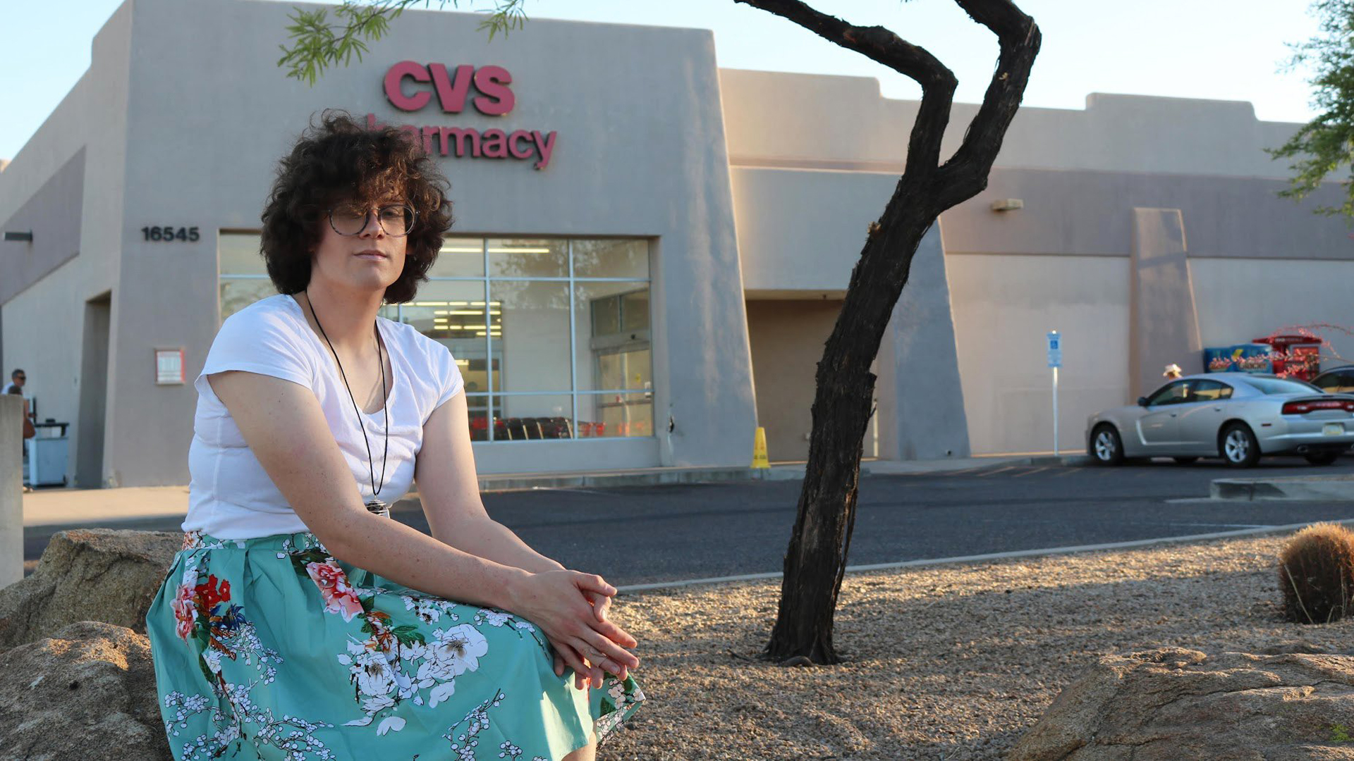 Hilde Hall filed a complaint against a CVS pharmacy in Arizona after she tried to fill her hormone prescription. (Credit: ACLU of Arizona)