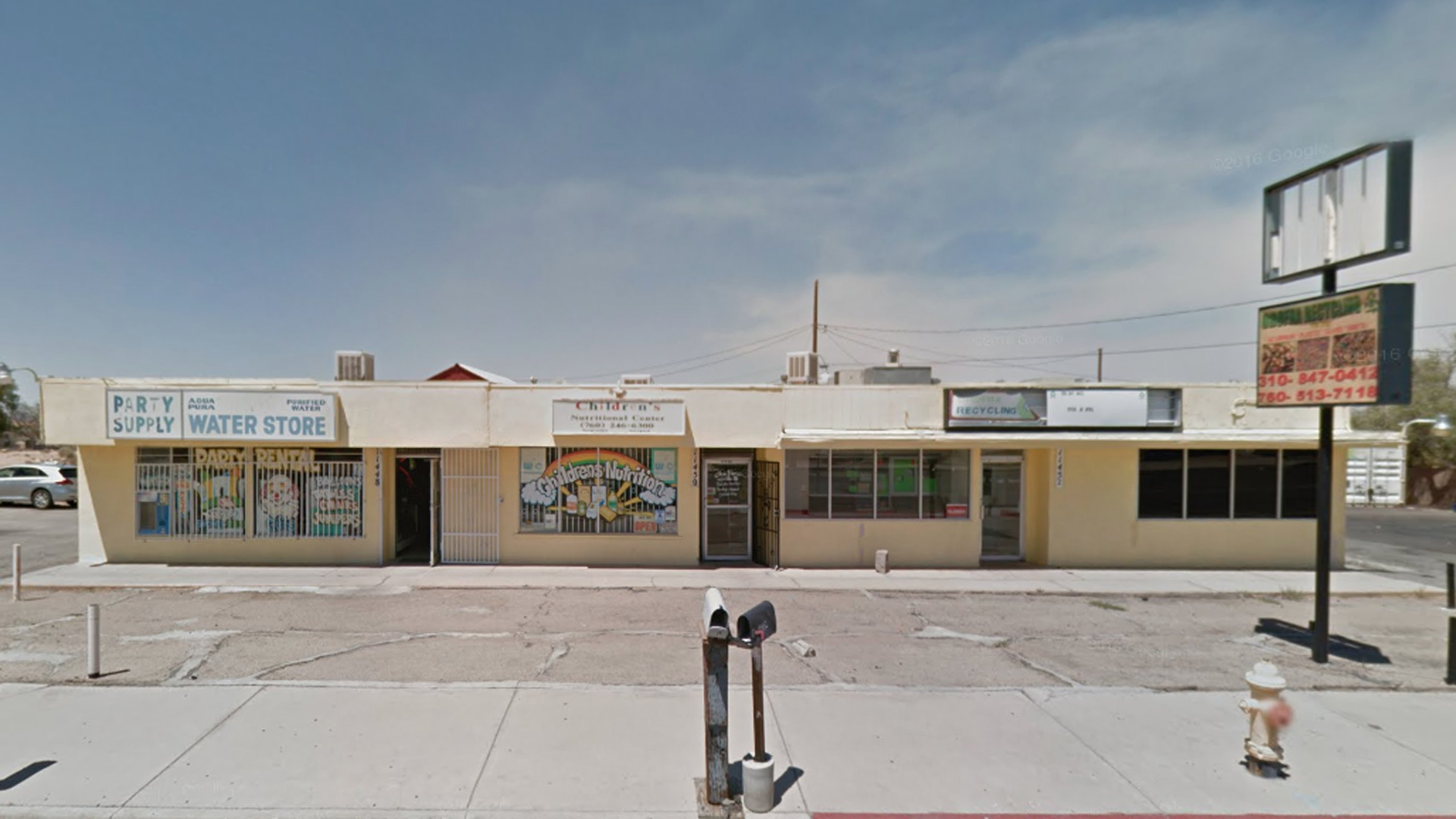 The Children's Nutrition Center on Bartlett Avenue in Adelanto is seen in a Google Maps Street View image from August 2016.