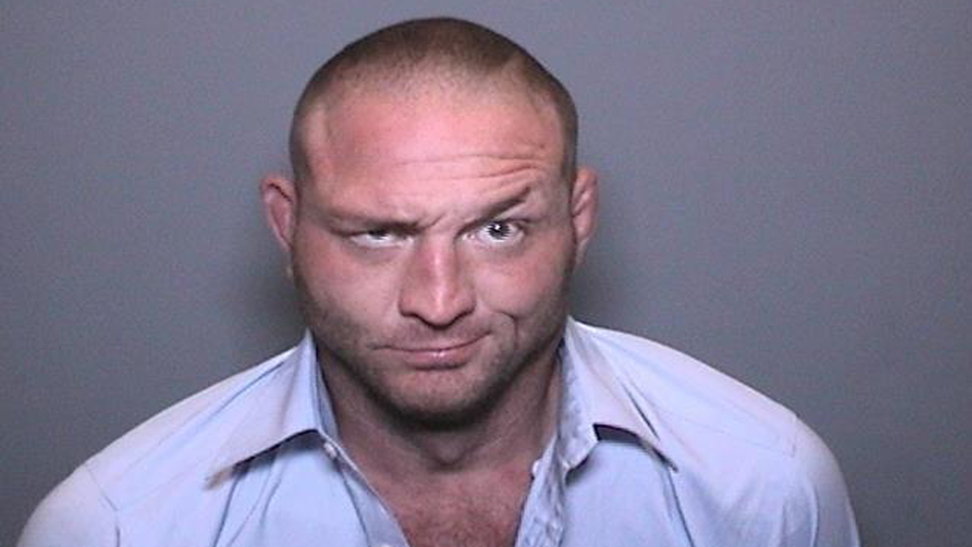 The Orange County District Attorney's Office released this booking photo of Jason Miller on Oct. 26, 2018.