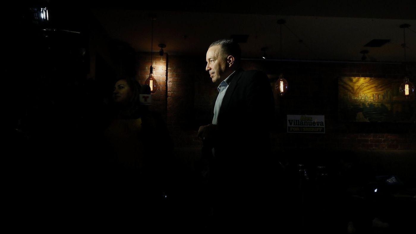 Alex Villanueva is shown in an undated photo. (Credit: Gary Coronado / Los Angeles Times)