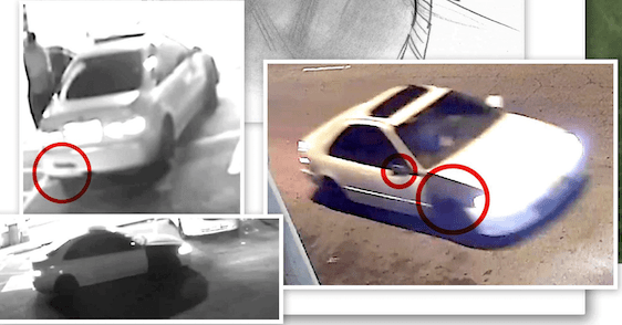 The Los Angeles Sheriff's Department released these stills on Dec. 19, 2018 of a vehicle believed to be involved in the fatal shooting of Rene Lupian in East Los Angeles.