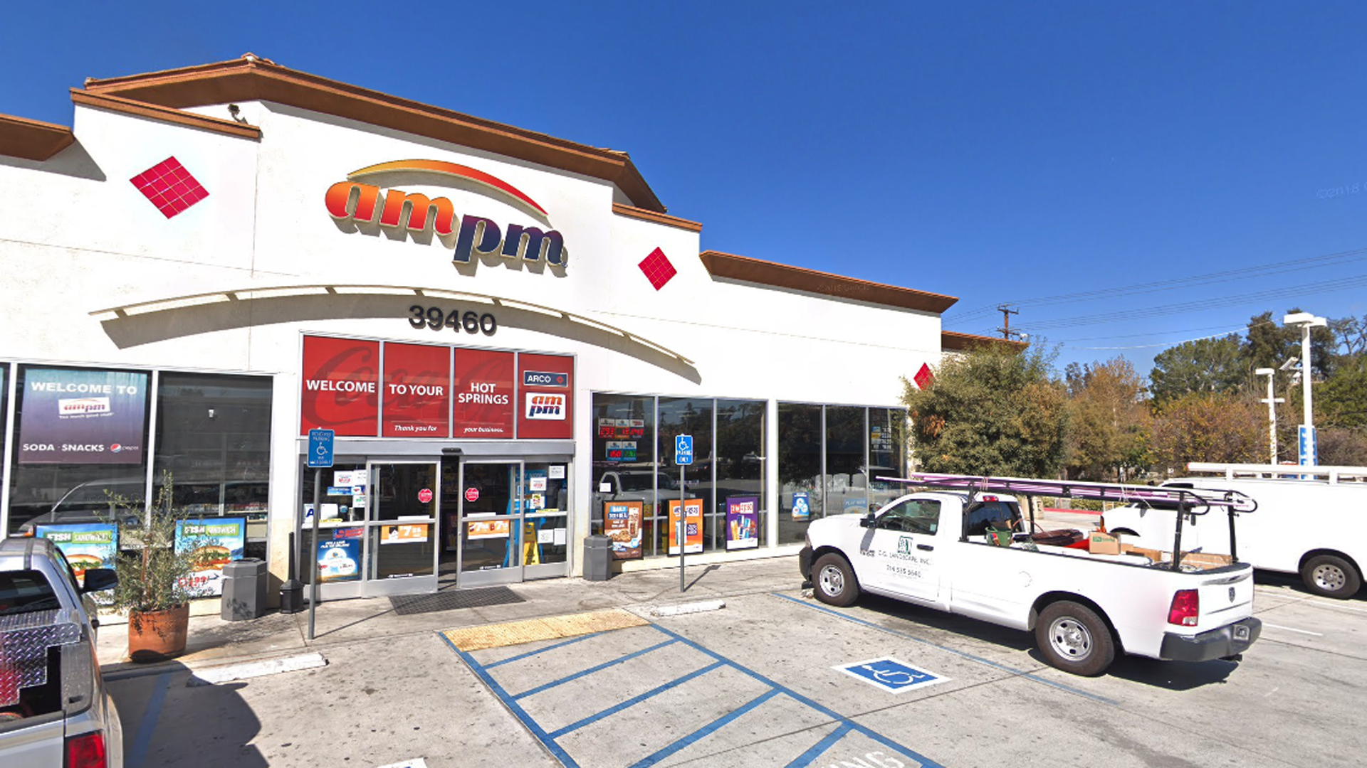 The ampm in Murrieta where a winning lottery ticket was sold is seen in a Google Maps Street View image from February 2018.