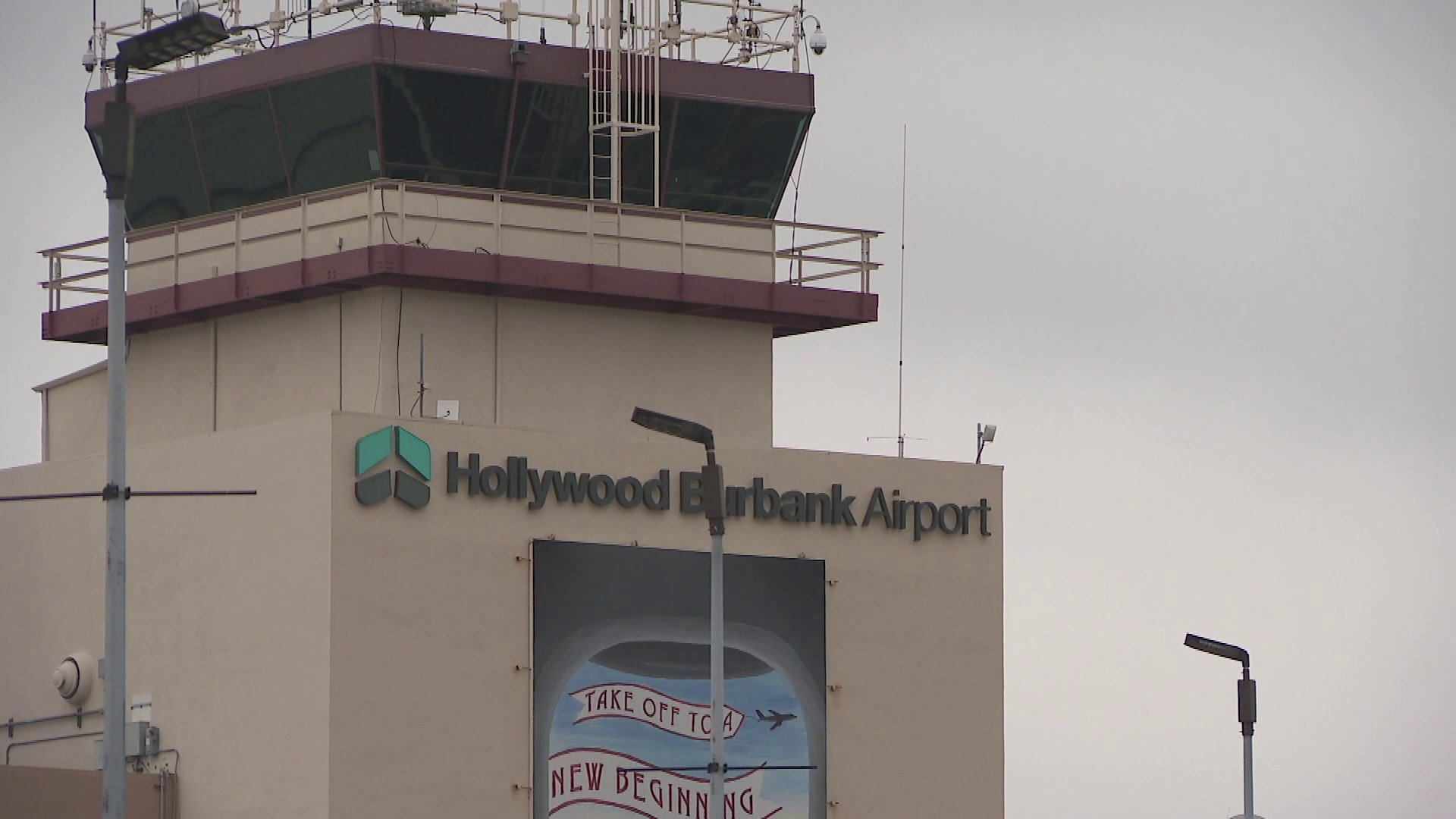 Hollywood Burbank Airport is seen on June 17, 2019. (Credit: KTLA)