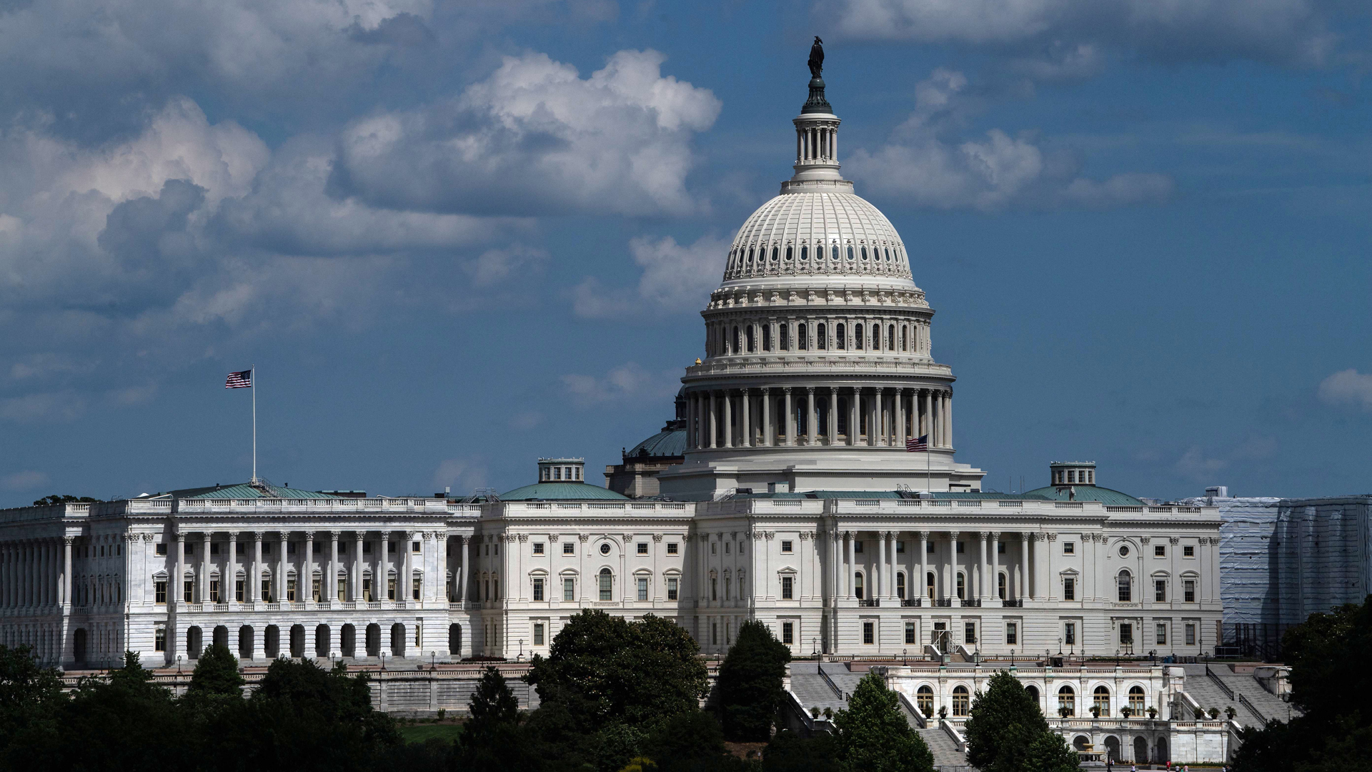View of the U.S. Capitol in Washington, DC, on June 20, 2019. (Credit: NICHOLAS KAMM/AFP/Getty Images)