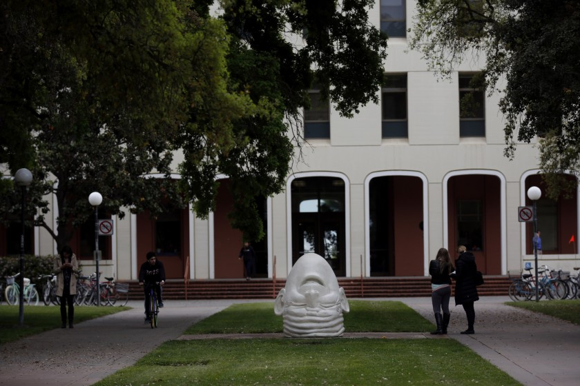 The main campus administration building at UC Davis appears in an undated photo. (Credit: Francine Orr / Los Angeles Times)