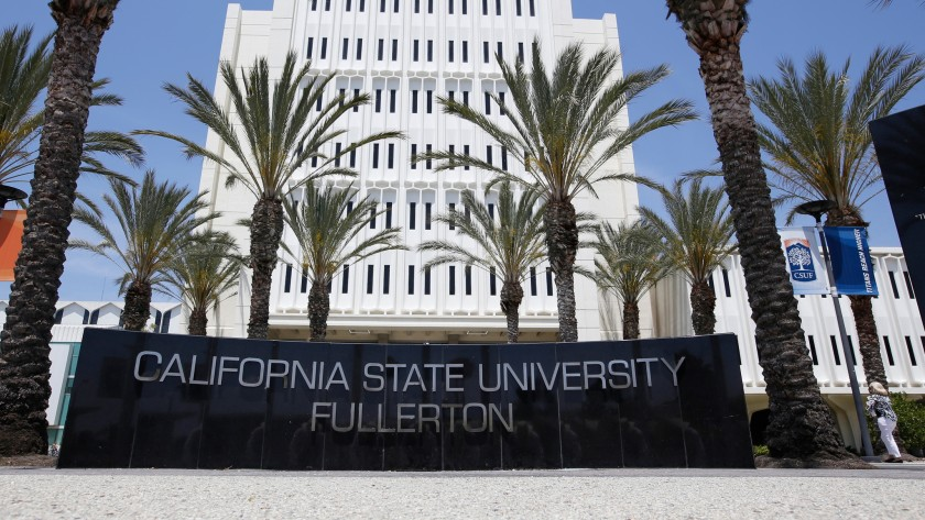 The California State University Fullerton is seen in an undated image. (Credit: Glenn Koenig / Los Angeles Times)