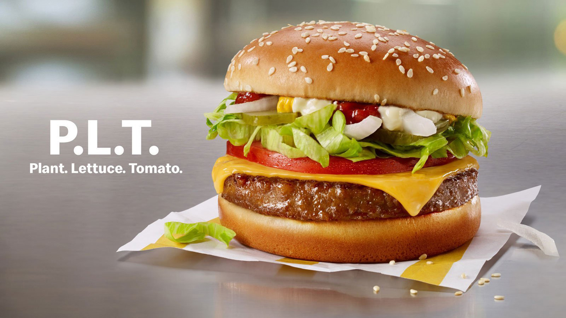 McDonald's will begin testing a Beyond Meat burger, giving the plant-based meat craze a major endorsement. (Credit: McDonald's Corp.)