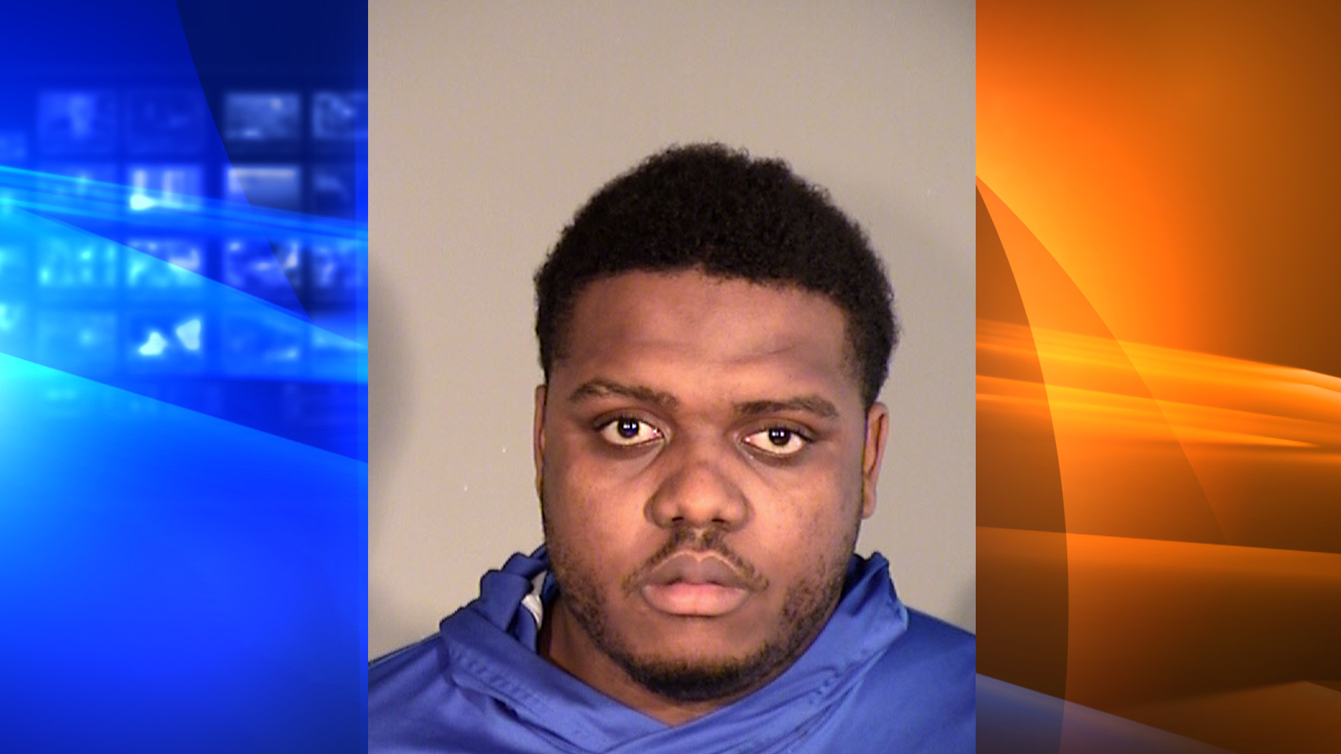 Davante Bell is seen in this booking photo on Sept. 25, 2019 from the Thousand Oaks Police Department.