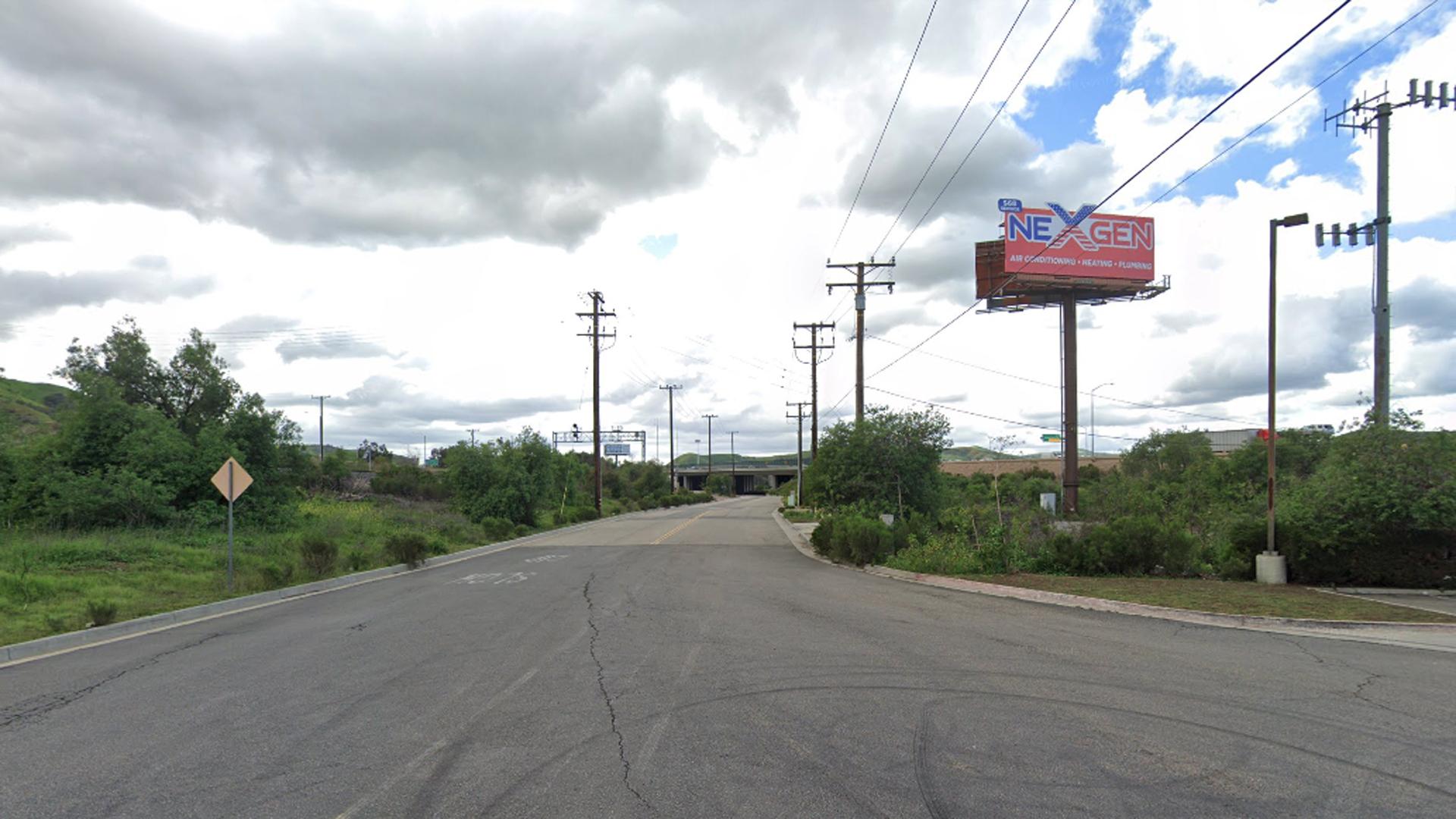 The 4000 block of Prado Road in Corona, as viewed in a Google Street View image.