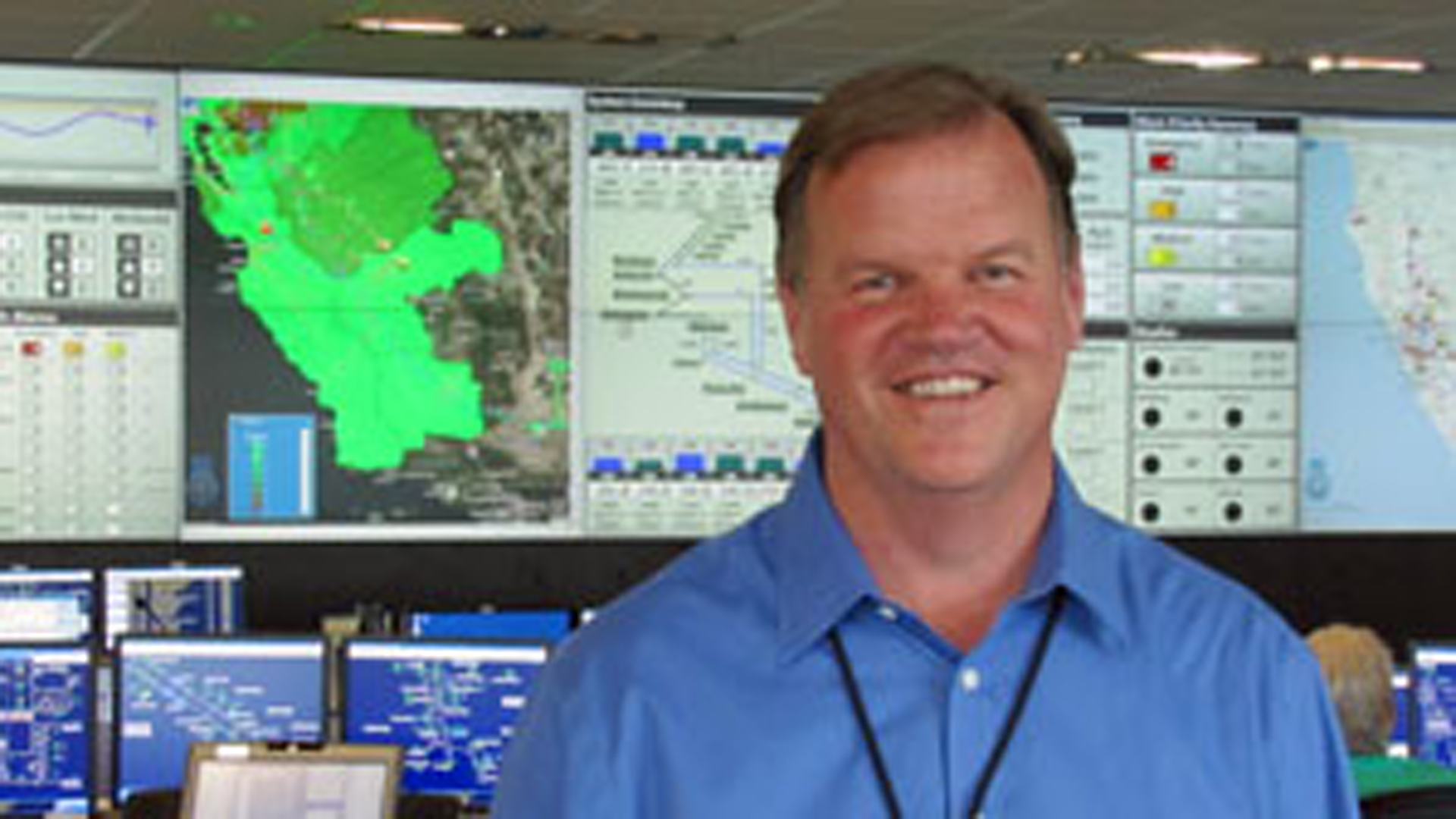 Mel Christopher appears in a photo posted in a September 2013 blog post on Pacific Gas and Electric's website.