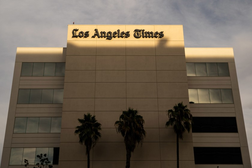 The Los Angeles Times moved to El Segundo in 2018, following the purchase of the paper by Dr. Patrick Soon-Shiong. (Credit: Kent Nishimura/Los Angeles Times)
