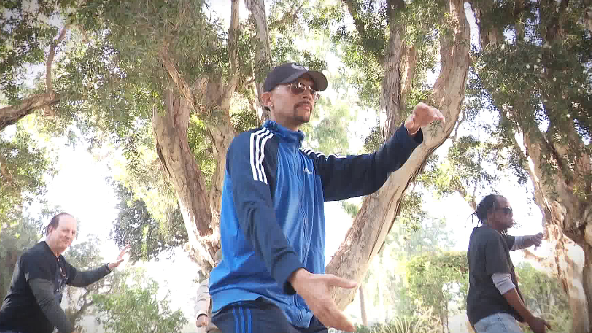 The ancient tradition of tai chi has been shown to benefit muscle strength, flexibility and balance. (Credit: KTLA)
