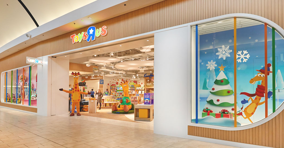 Toys R Us tweeted this photo of its New Jersey location that opened on Nov. 27, 2019.