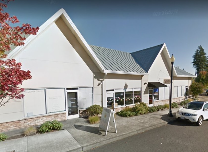 Academy 4 Kids preschool and day care in West Sacramento is shown in a Street View image from Google Maps.