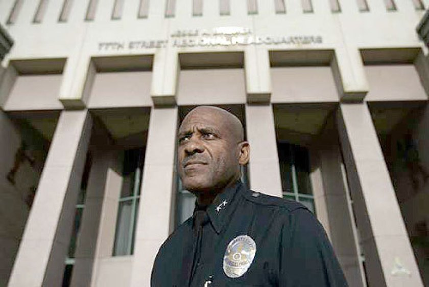 Earl Paysinger, a pillar of the LAPD, is seen in this undated portrait. (Credit: Allen J. Schaben / Los Angeles Times)