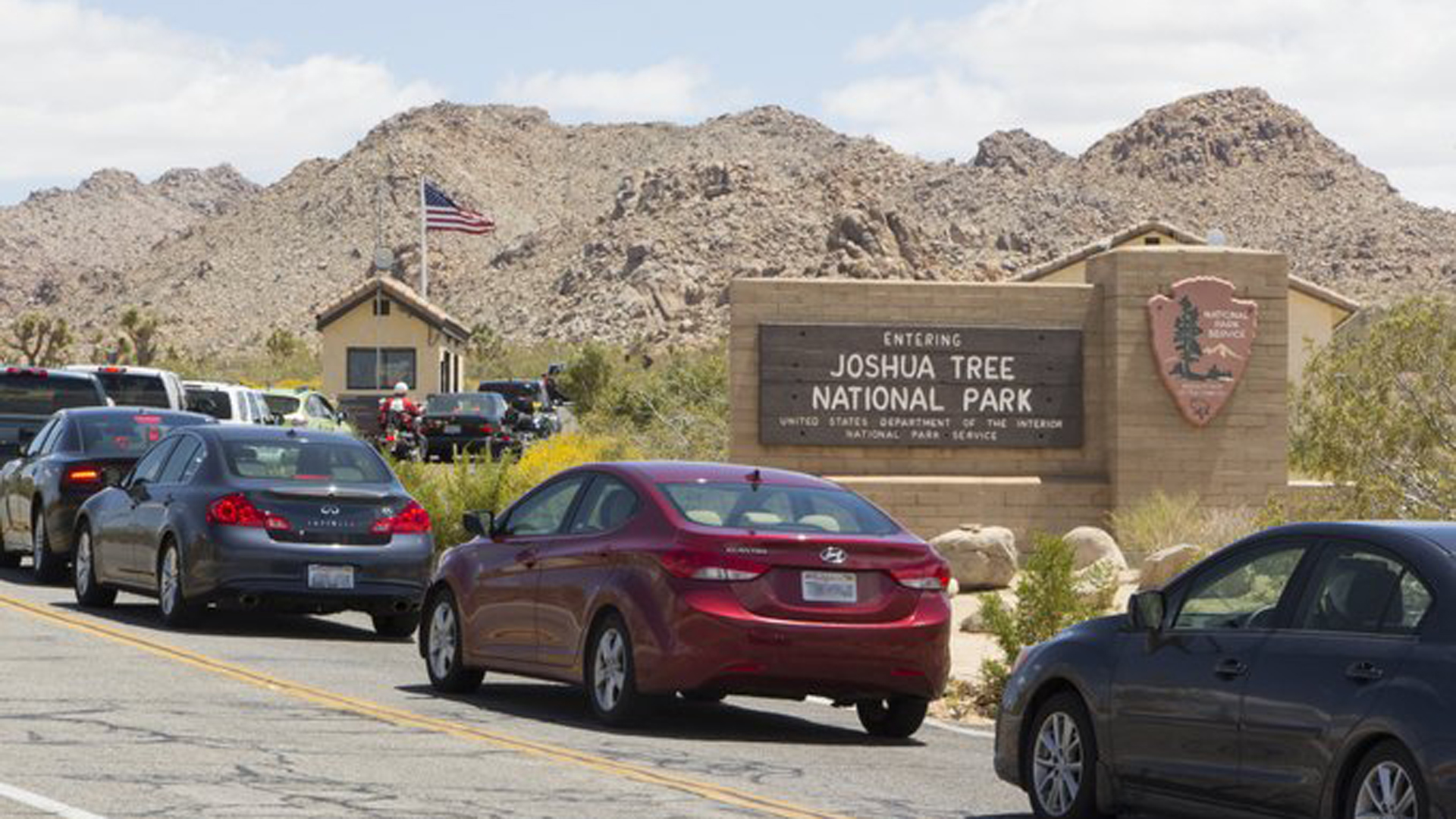 Joshua Tree National Park tweeted out this photo on Dec. 20, 2019.