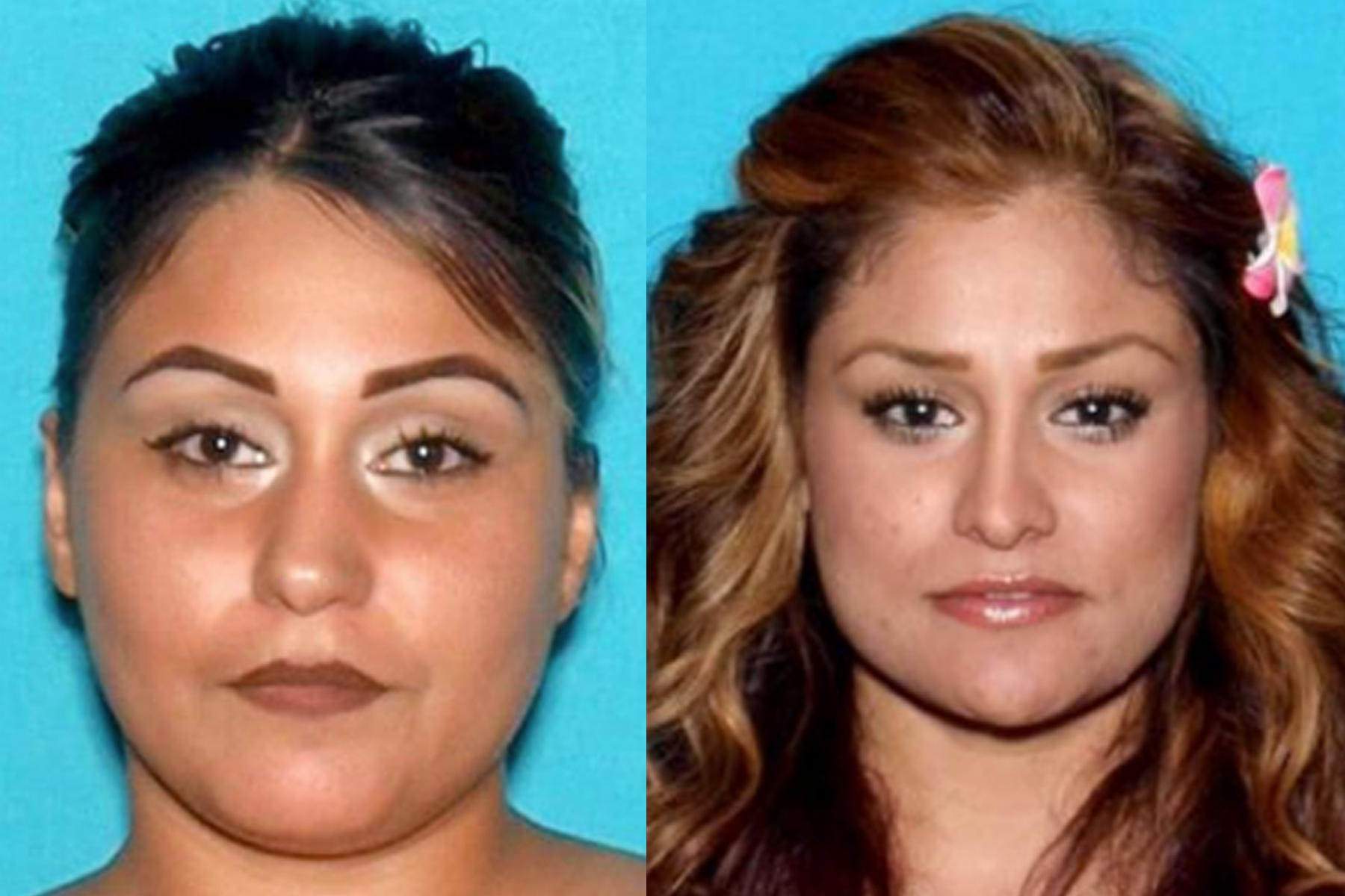 Victims Franchiskka Barrios (left) and Margaret Barrios (right). (Credit: San Bernardino Police Department)