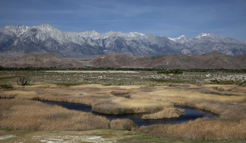 Owens Valley is seen in an undated photo.(Credit: Brian van der Brug / Los Angeles Times)