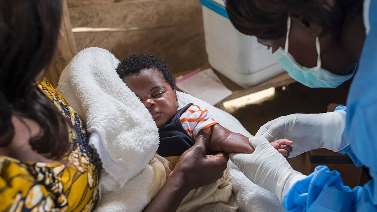 Measles has killed more than 6,000 people in the Democratic Republic of Congo, the World Health Organization has said. (Credit: Thomas Nybo/Unicef)