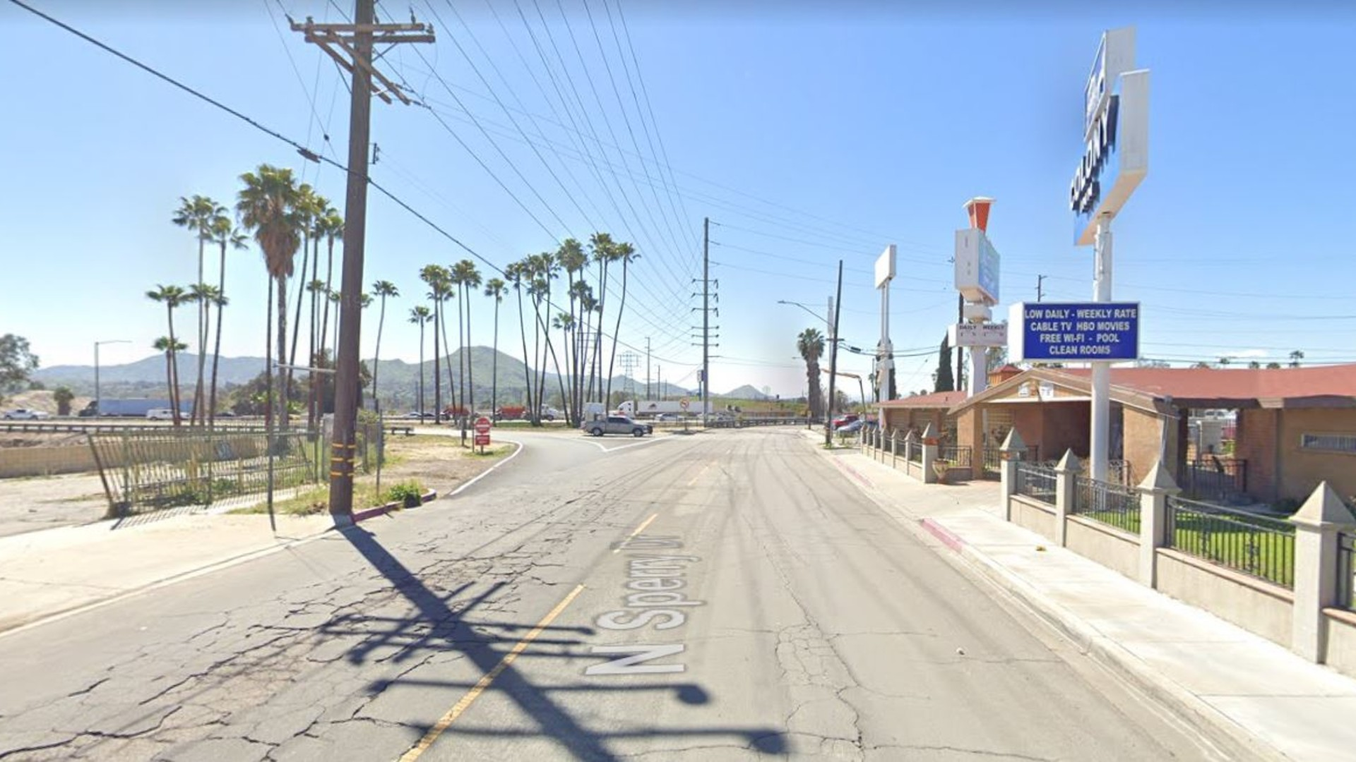 The 300 block of North Sperry Drive in Colton, as pictured in a Google Street View image.