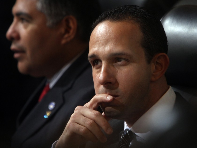 Former L.A. City Councilman Mitch Englander is seen in an undated photo. (Francine Orr / Los Angeles Times)
