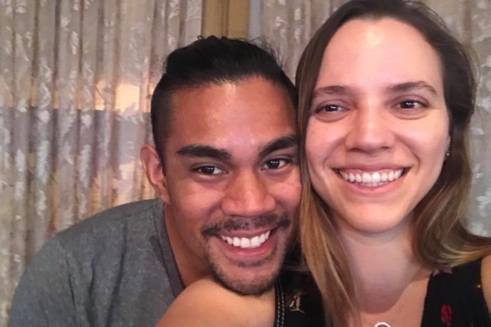 Jason Joros, 31, is seen with his wife Christina in an undated photo. (GoFundMe)