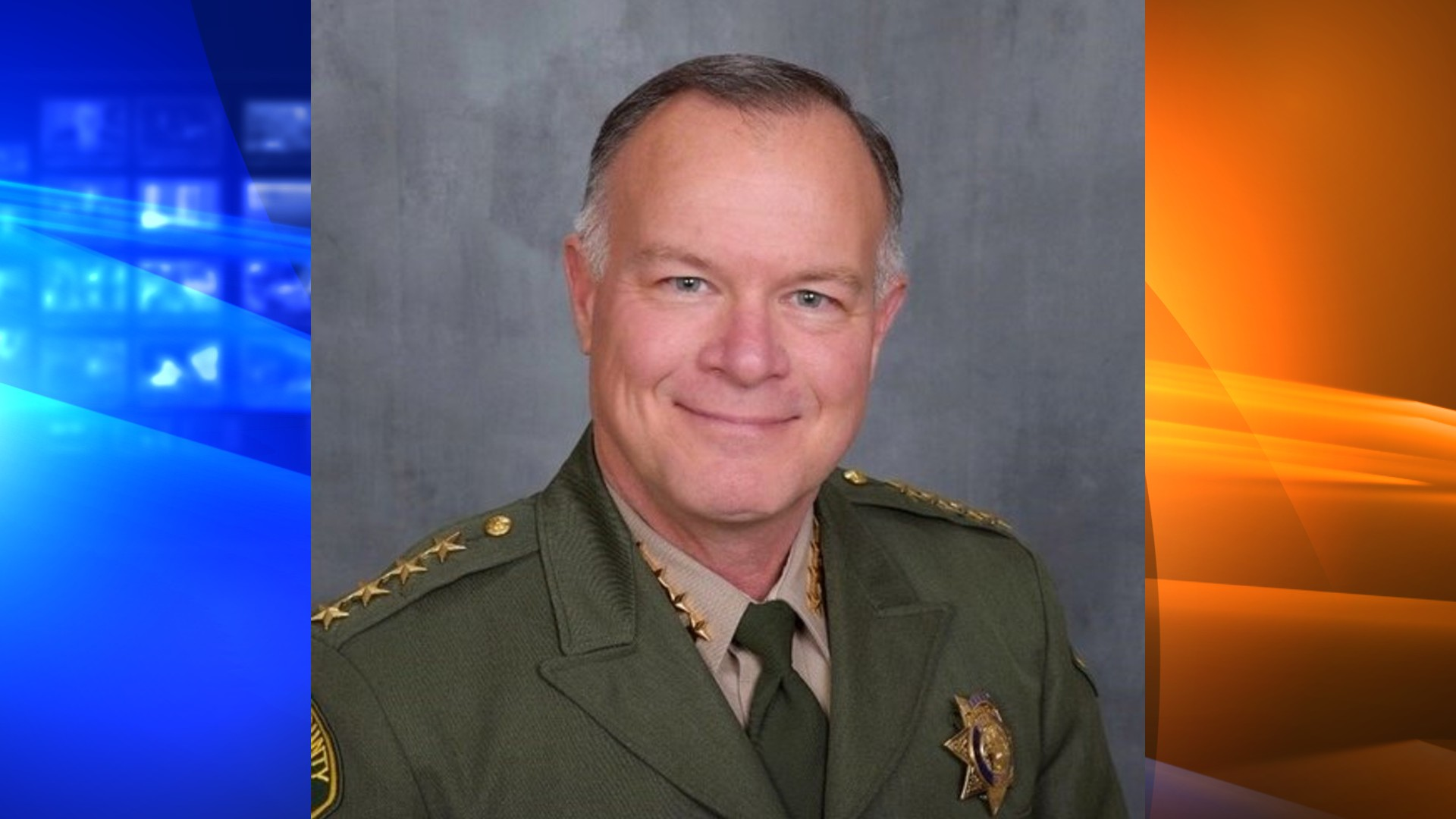 Sonoma Sheriff Mark Essick is seen in a photo distributed by his agency.