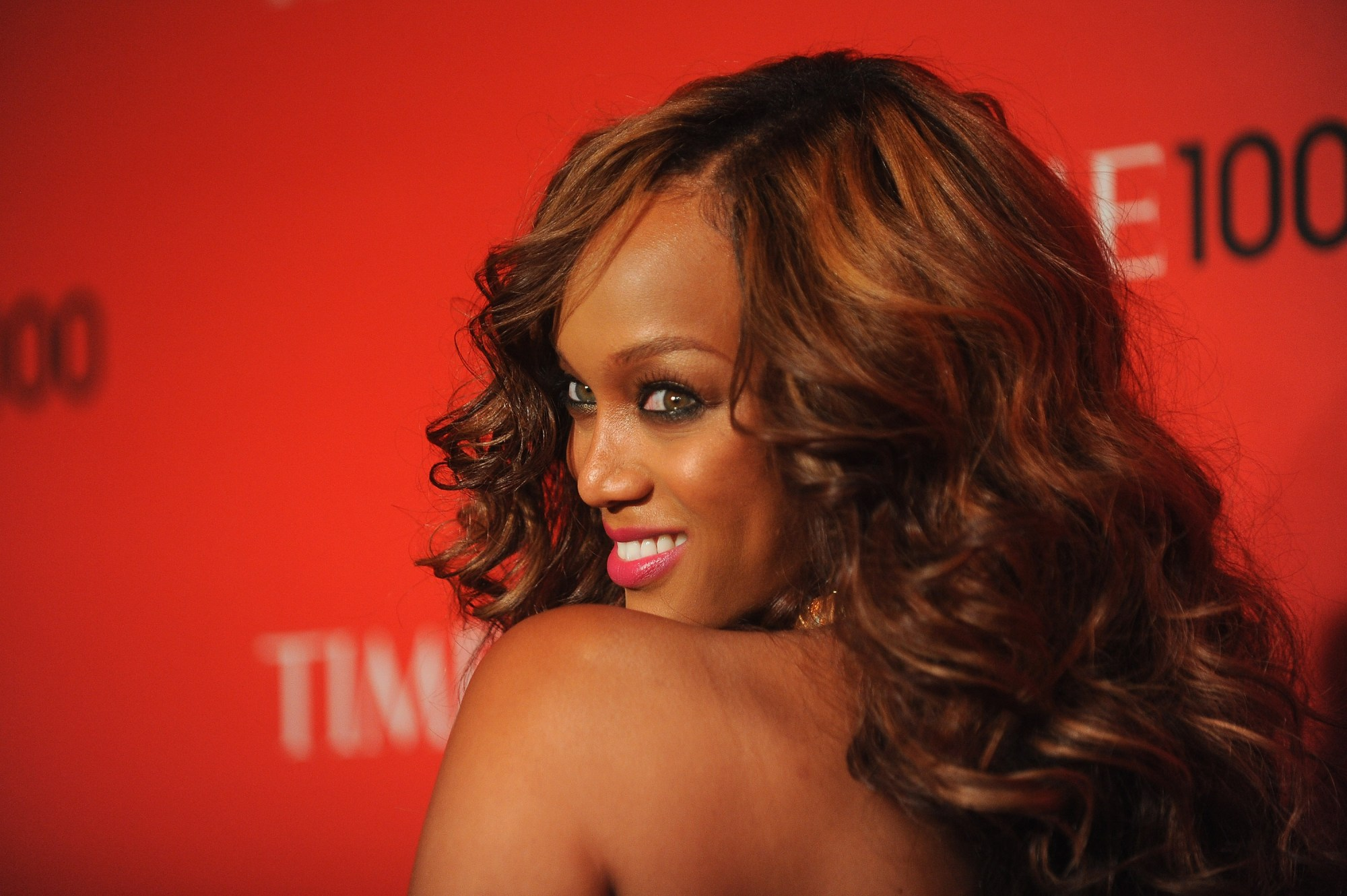 Tyra Banks attends the TIME 100 Gala on April 24, 2012, in New York City. (Fernando Leon/Getty Images for TIME)