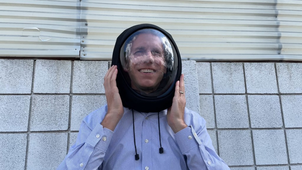 Face masks go high-tech with built-in air sensors, HEPA filters and space-like designs