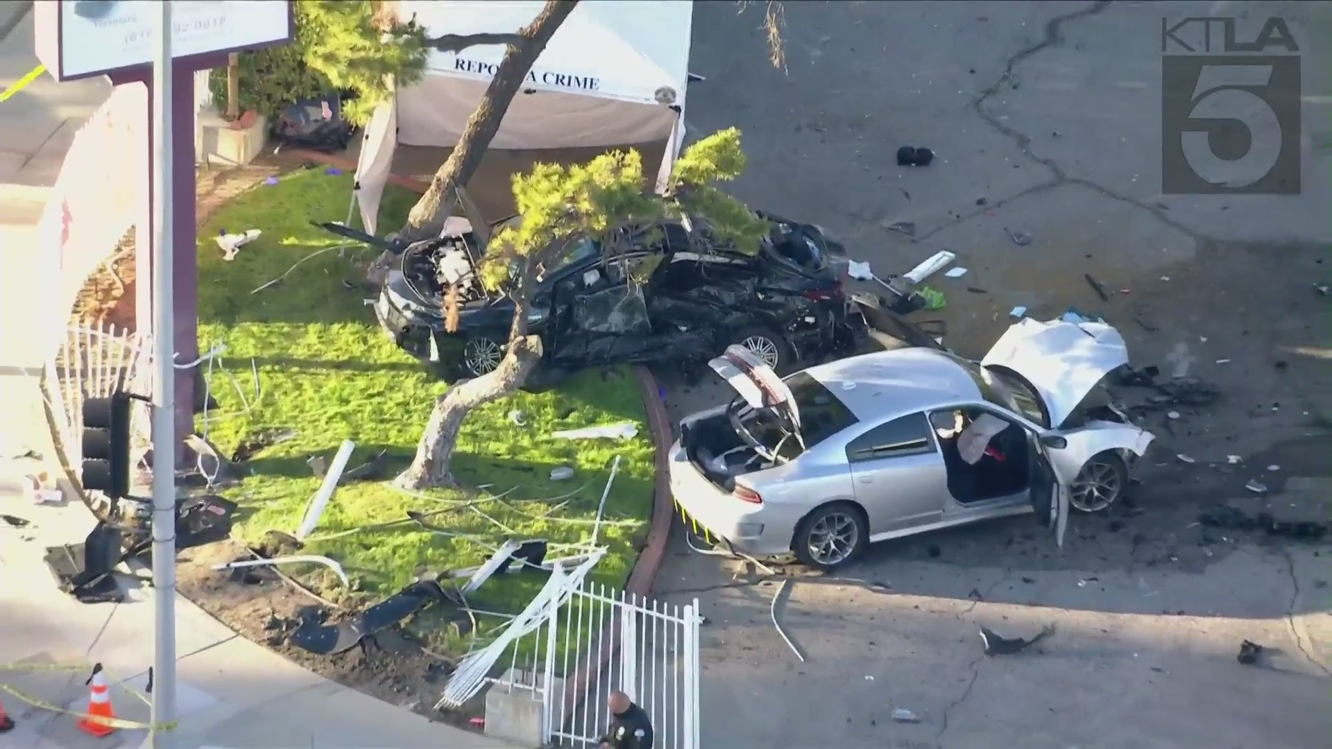 Street Racing Crash in West Hills Killed an Innocent Woman  3/20/21