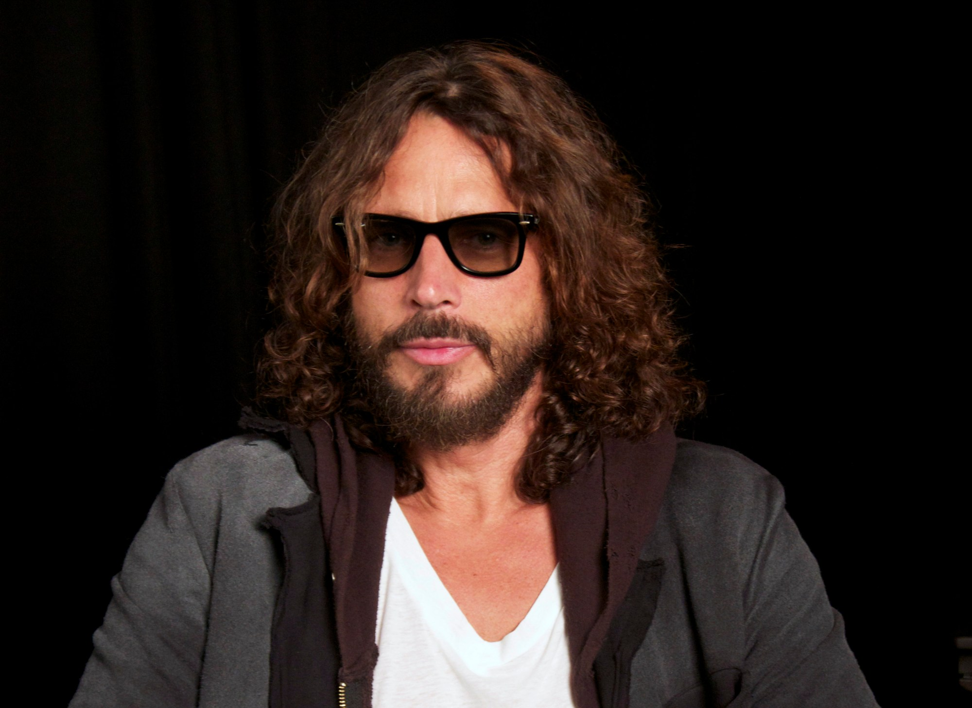 Musician Chris Cornell is seen in New York on Sept. 23, 2011. (John Carucci / Associated Press)